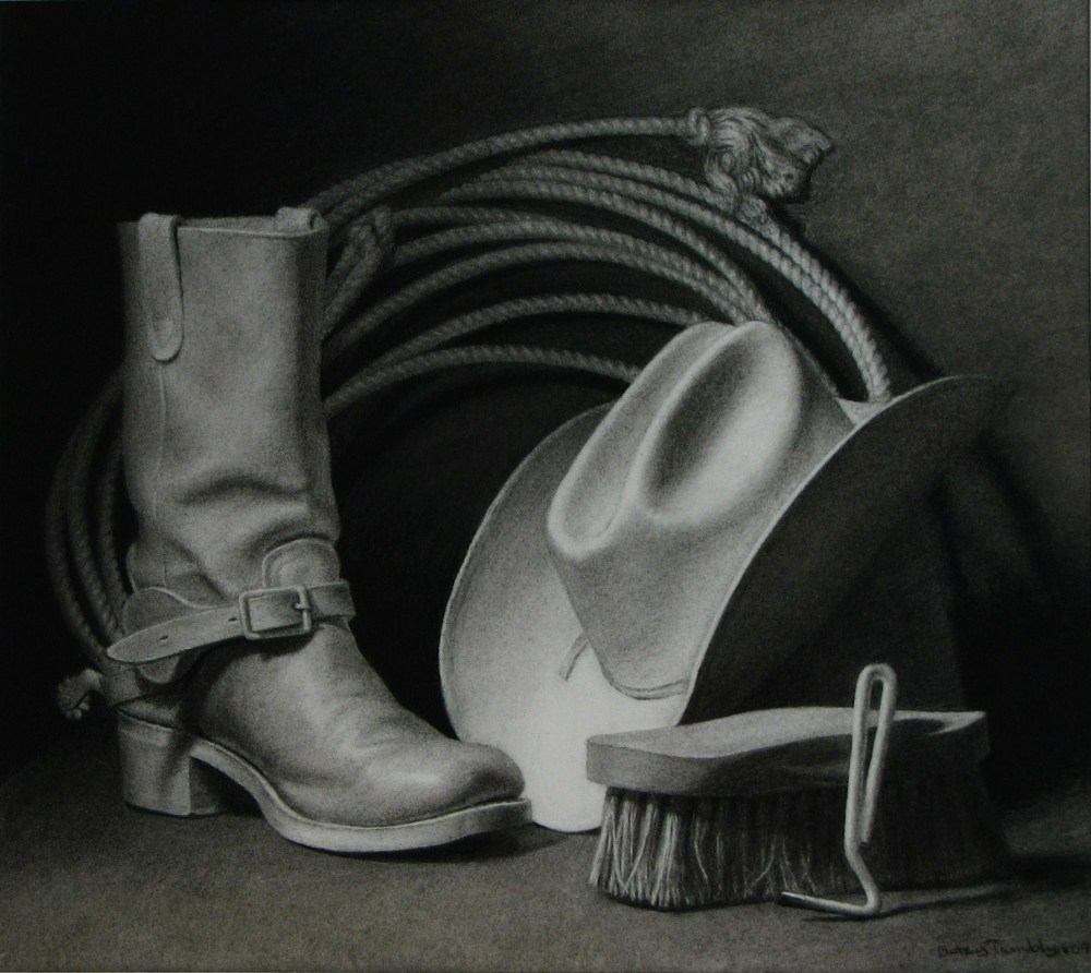Drawing Still Life - Head For The Horse